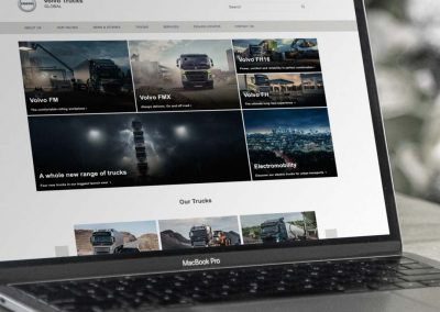 Volvo Trucks | Consistency in global online communication