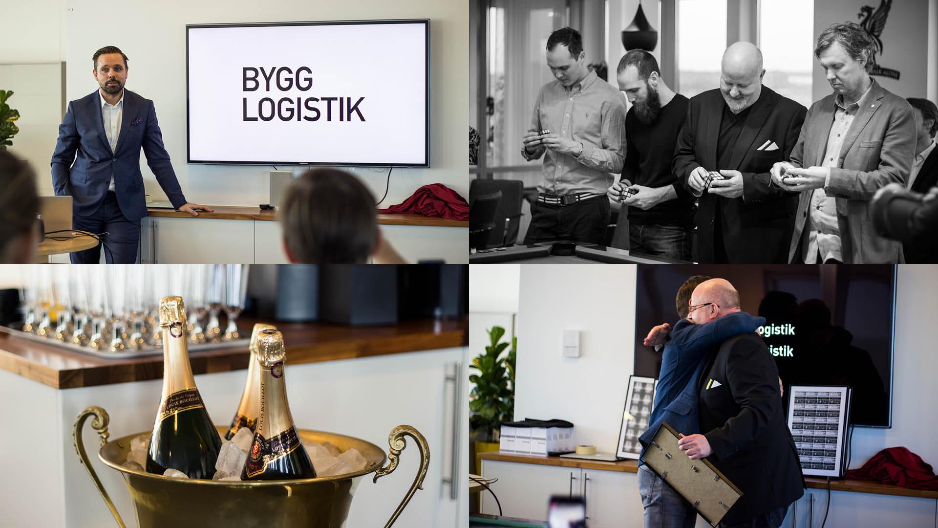 Bygglogistik - Building a brand