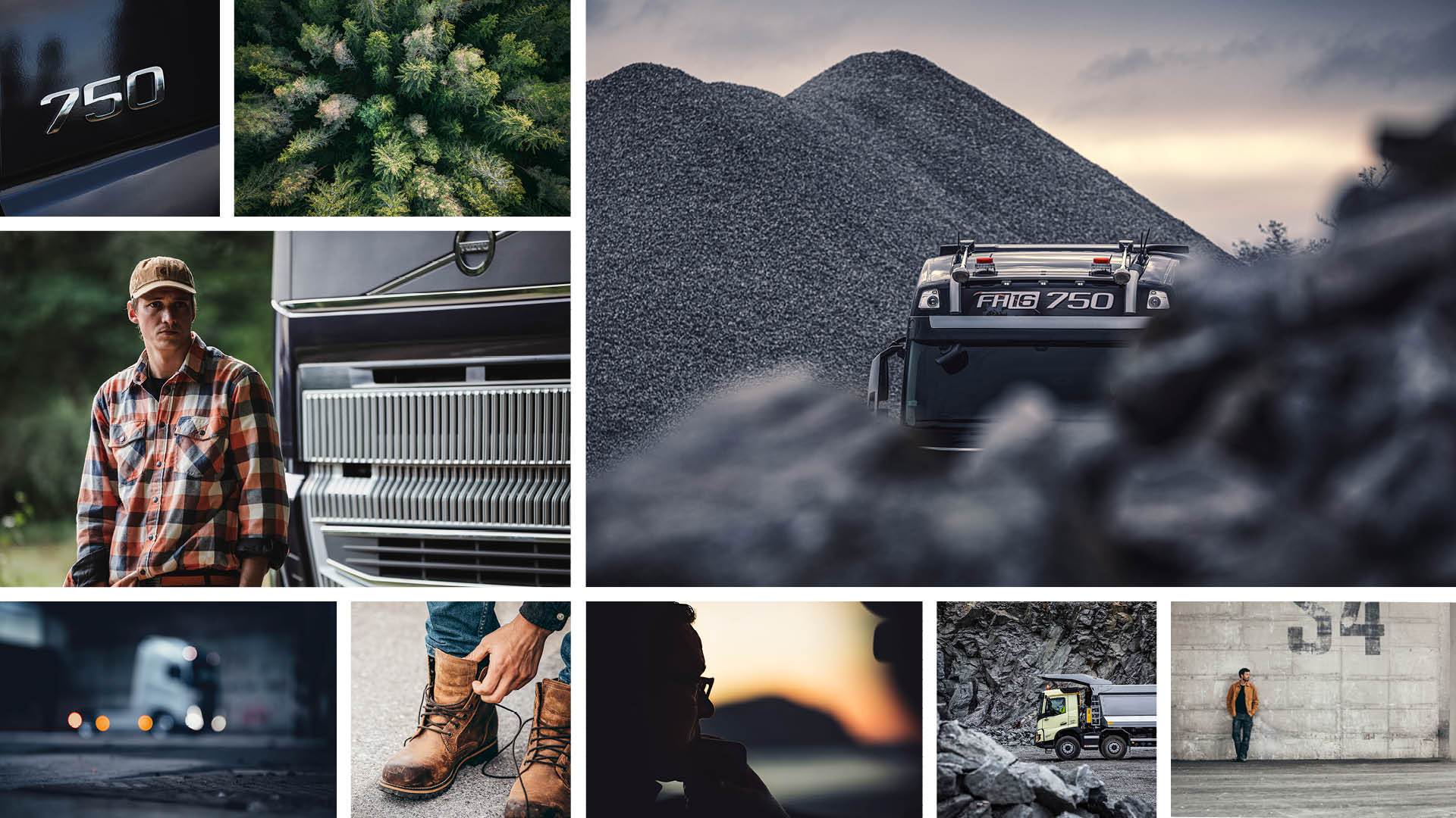 Volvo Trucks - Visual Strategy