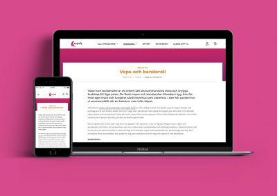 Expofy | Sökordsoptimerade texter lyfte Expofys webbplats
